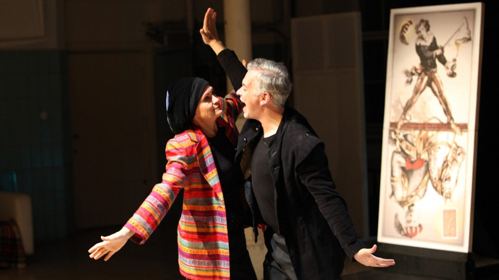 "WORT_ensemble 2009: Dina Kabele & Michael Schefts in ""Leonce & Lena"""