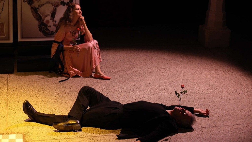 "WORT_ensemble 2009: Dina Kabele & Michael Schefts in ""Leonce & Lena"""