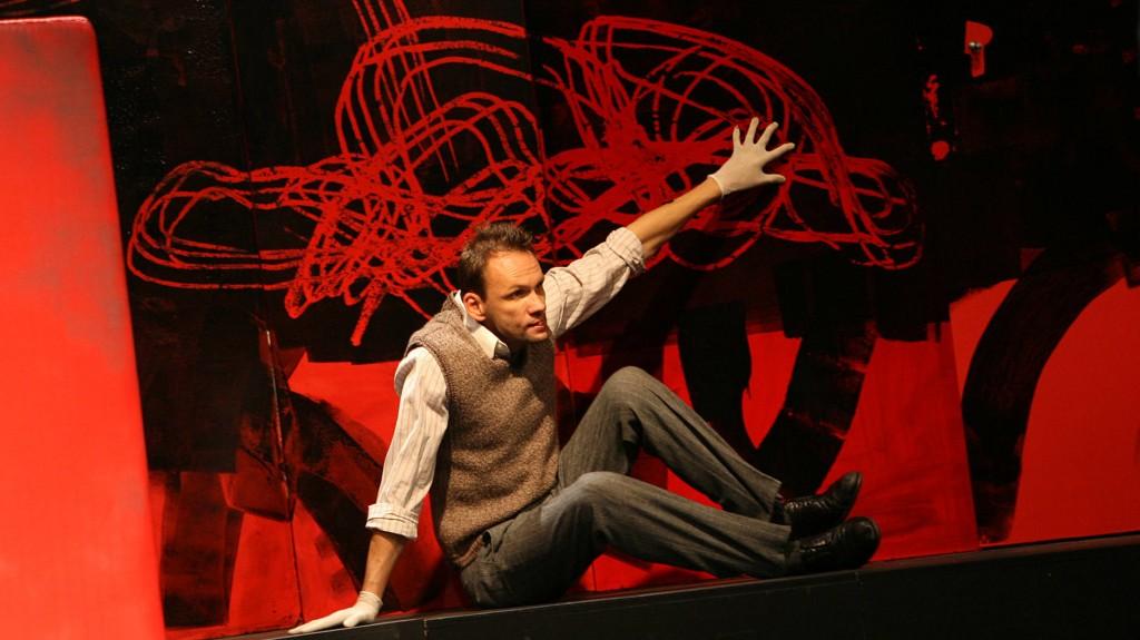 "WORT_ensemble 2008: Oliver Baier in ""Der Proceß"""