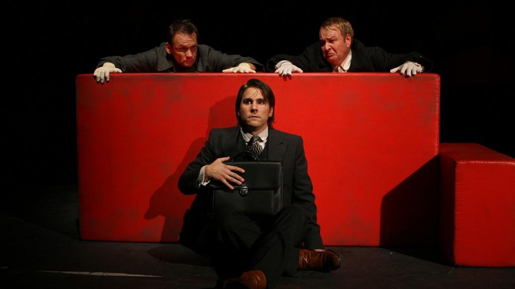 """WORT_ensemble 2008: Oliver Baier, Paul König & Marcus Strahl in """"Der Proceß"""""""