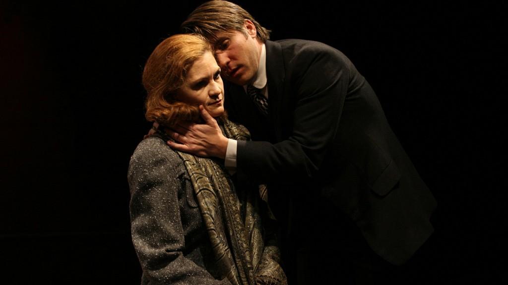 """WORT_ensemble 2008: Dina Kabele & Paul König in """"Der Proceß"""""""