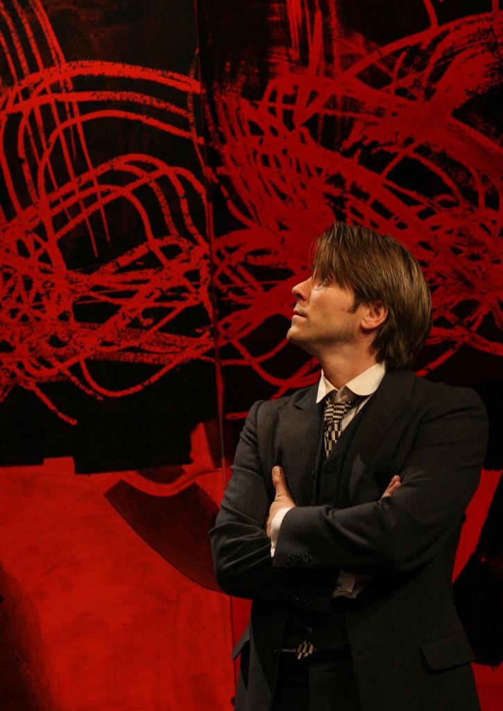 """WORT_ensemble 2008: Paul König in """"Der Proceß"""""""