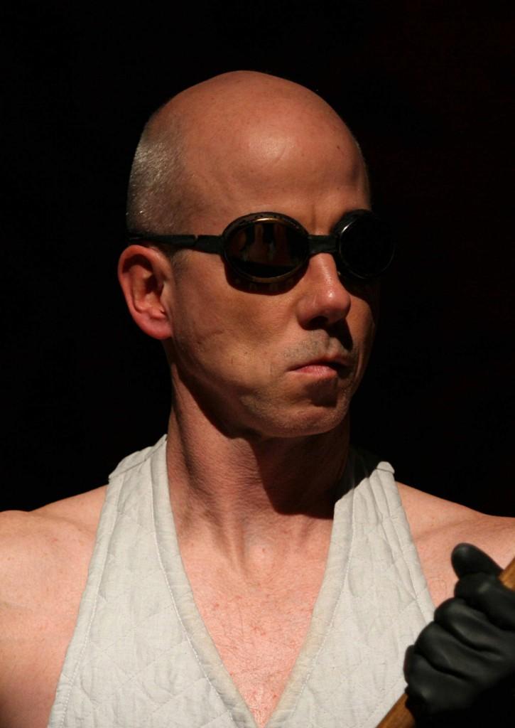 """WORT_ensemble 2008: Martin Schlager in """"Der Proceß"""""""