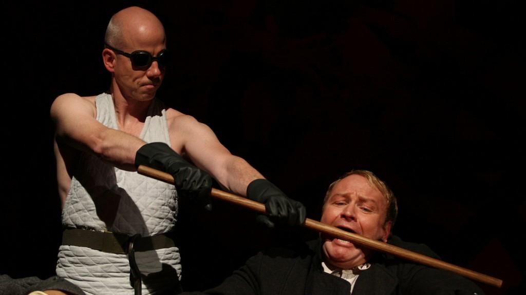 """WORT_ensemble 2008: Martin Schlager & Marcus Strahl in """"Der Proceß"""""""