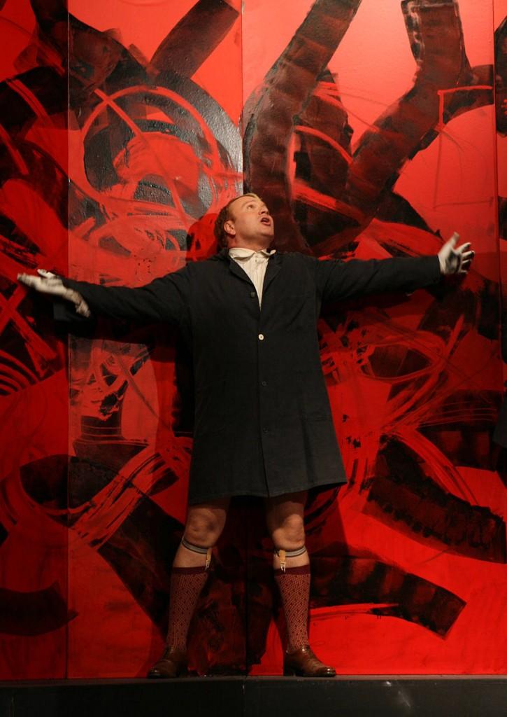 """WORT_ensemble 2008: Marcus Strahl in """"Der Proceß"""""""