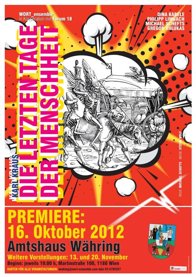 """WORT_ensemble 2012: Karl Kraus """"Die letzten Tage der Menschheit"""""""