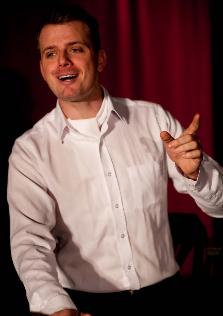 """WORT_ensemble 2012: Philipp Limbach in """"Die letzten Tage der Menschheit"""""""