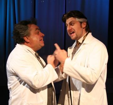 """WORT_ensemble 2010: Alois Frank & Nik Raspotnik in """"Frankenstein"""""""