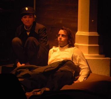 """WORT_ensemble 2010: Dina Kabele & Nicho Harras in """"Frankenstein"""""""