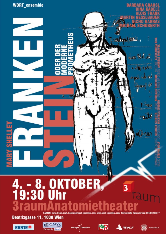 "WORT_ensemble 2010: Mary Shelleys ""Frankenstein oder der moderne Prometheus"""