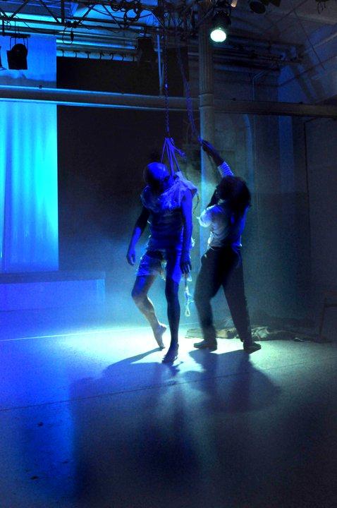 """WORT_ensemble 2010: Michael Schuberth & Nicho Harras in """"Frankenstein"""""""