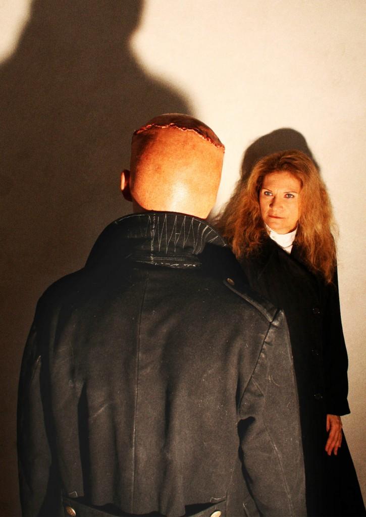 """WORT_ensemble 2010: Michael Schuberth & Dina Kabele in """"Frankenstein"""""""