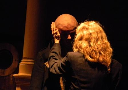 "WORT_ensemble 2010: Michael Schuberth & Dina Kabele in ""Frankenstein"""
