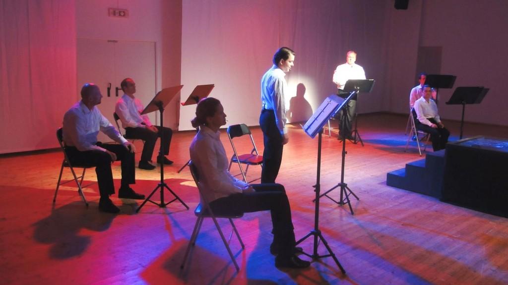"""WORT_ensemble 2012: Martin Gesslbauer & Marcus Strahl in """"Die Ermittlung"""""""