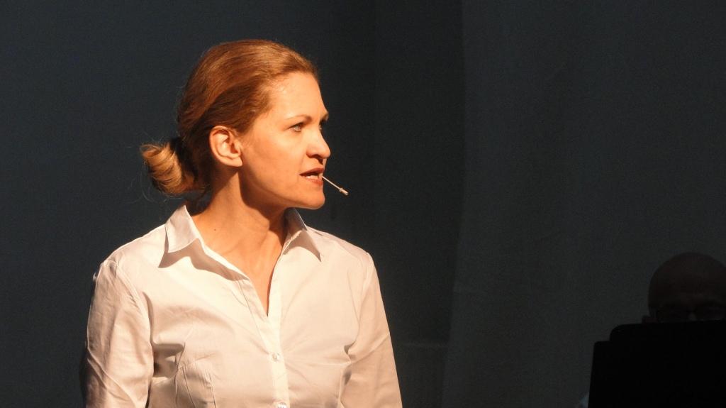 """WORT_ensemble 2012: Dina Kabele in """"Die Ermittlung"""""""