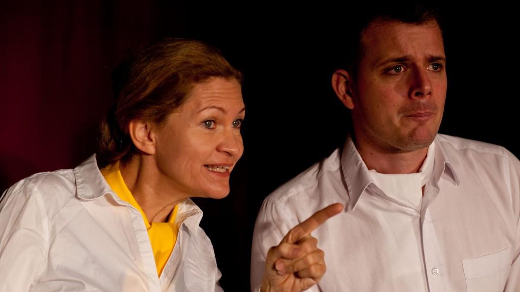 """WORT_ensemble 2012: Dina Kabele & Philipp Limbach in """"Die letzten Tage der Menschheit"""""""