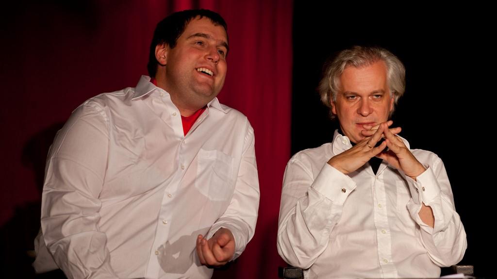 """WORT_ensemble 2012: Gregor Viilukas & Michael Schefts in """"Die letzten Tage der Menschheit"""""""