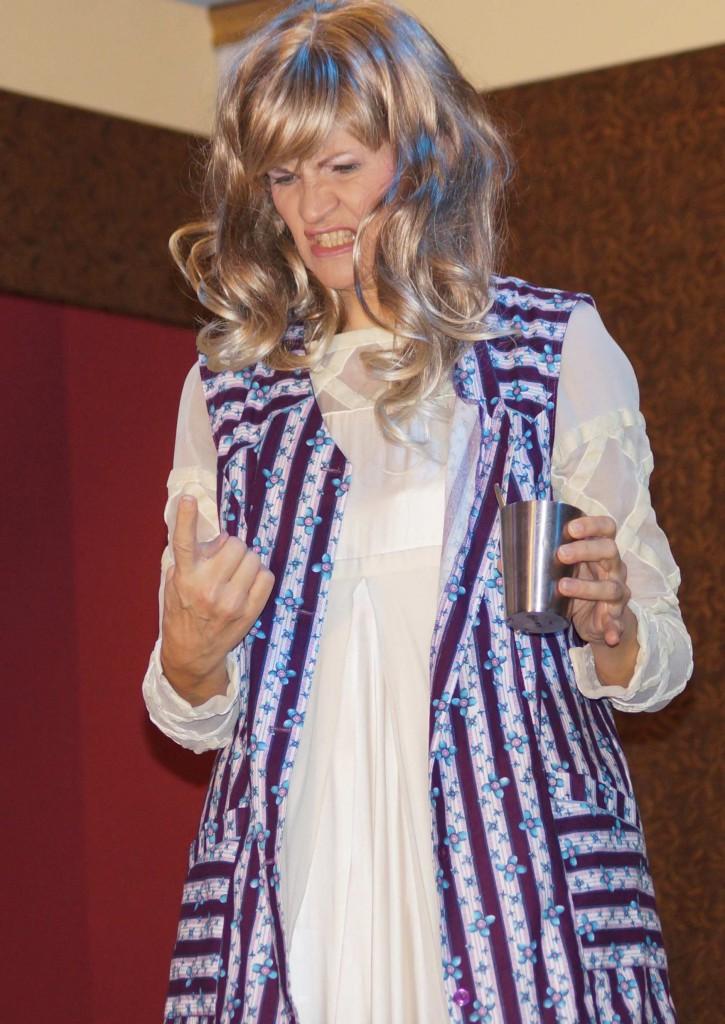 """WORT_ensemble 2013: Dina Kabele in """"Es war die Lerche"""""""