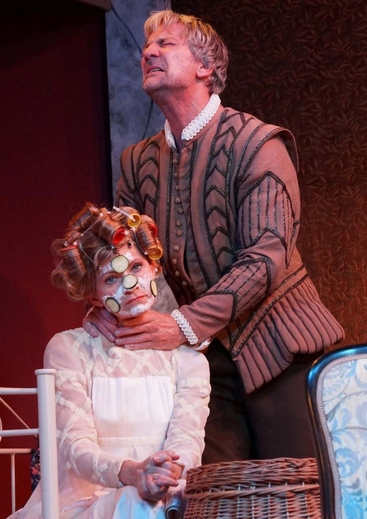 "WORT_ensemble 2013: Dina Kabele & Rudi Larsen in ""Es war die Lerche"""