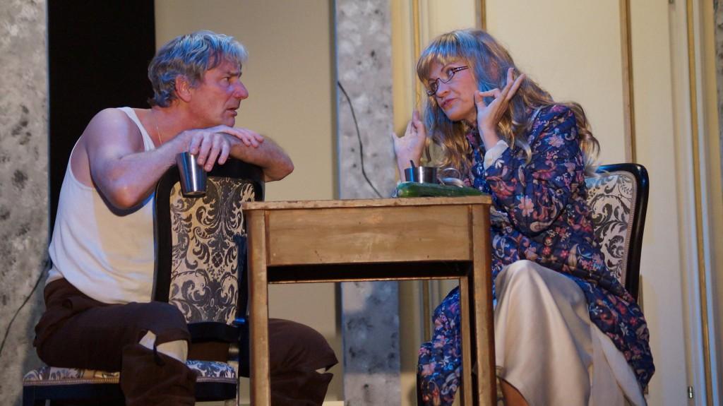 "WORT_ensemble 2013: Rudi Larsen & Dina Kabele in ""Es war die Lerche"""