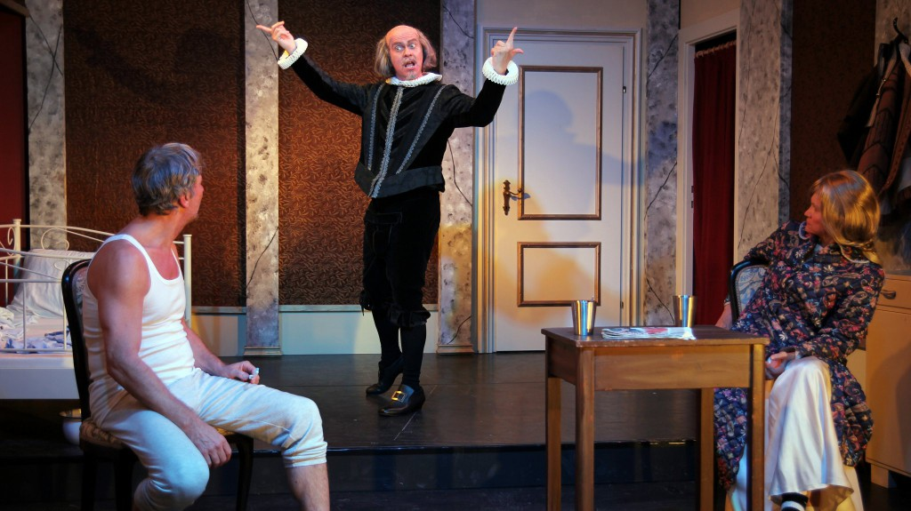 """WORT_ensemble 2013: Rudi Larsen, Michael Schefts & Dina Kabele in """"Es war die Lerche"""""""