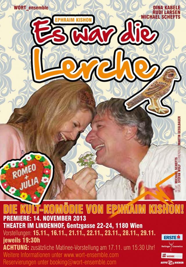 "WORT_ensemble 2013: Ephraim Kishon ""Es war die Lerche"""